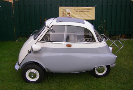 Wartung BMW Isetta