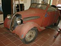 Vollrestauration eines BMW 312 Kabrioletts